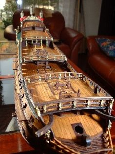 帆船模型製作 フリースランド(Friesland) 2/2 Model Sailing Ships, Model Ships, Model Ship Building, Boat Building, Hms Bounty, Hms Victory, Ship Of The Line, Boat Projects, Wooden Ship