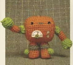 DIY Amigurumi Robot - FREE Crochet Pattern / Tutorial