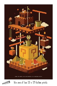 "IT""S COMPETITION TIME To celebrate the launch of the 3NES show the rad dudes over at Bottleneck Gallery have given Gamefreaks two 13 x 9 prints by Jorsh Pena to giveaway to their followers. Enter Here"
