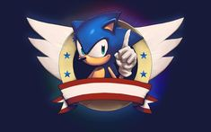 sonic the hedgehog cool logo hd wallpaper Sonic The Hedgehog, Hedgehog Game, Hedgehog Movie, Sonic Birthday Parties, Sonic Party, Game Sonic, 5th Birthday, Birthday Cake, Xbox One
