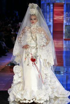 Wedding Dresses-Christian Lacroix-Luxe-Fashion-Elegance-Haute Couture-Bride. TOTALLY MINE!