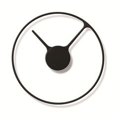 Stelton Time clock - black - Stelton  Hand Ring