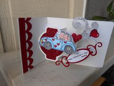 I Love Stamping: There's Pop N Cuts In Those Cards!