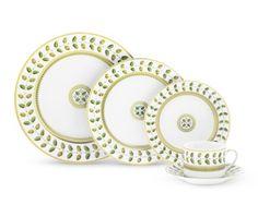 Bernardaud | Constance Dinnerware collection | $54.00 - $144.00 per piece.
