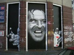 Famous People & Movie Roles as Graffiti all Over Berlin! | SmilePanic