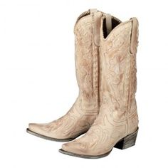 Saw these in Austin...fell in love <3 Poison in Distressed Bone - Lane Boots