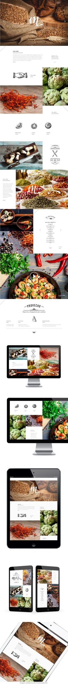 Beautiful Branding for Spanish-Mexican Restaurant Montagu