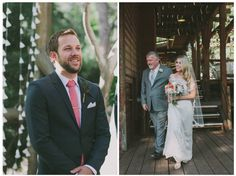 Love this split screen reveal!  So sweet at Hidden Creek  I  Pine Rose Weddings  I Fondly Forever Photography