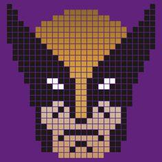 Wolverine Pixel Art