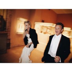 Vogue Daily — Charlize Theron and Sean Penn by @Mario Law Testino