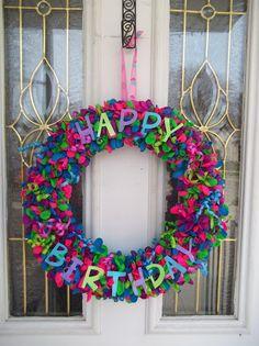 My Creative Holidays: #1 Balloon Wreath