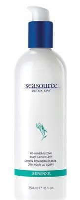 SeaSource Detox Spa Detoxifying Rescue Wash. The sea algae extracts in this sulfate-free cleanser provide antioxidant benefits to help neutralize the toxicity of heavy metals (e.g. lead, mercury, chromium and cadmium). This unique formula lifts away impurities and environmental toxins and provides a moisture barrier on the skin's surface to provide a relaxed, comfortable feel. 16 fl. oz. ( 16 fl. oz. )