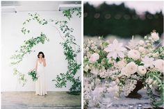 Dreamy floral styling by Sarah Winward, of Honey of a Thousand Flowers.  Sarah shares her flower foraging secrets in an exclusive interview on the Floret blog--click through to read the full story.
