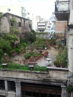 rooftop garden #roofgardens