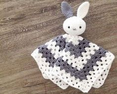 Ideas For Crochet Patterns Free Toys Dutch Crochet Lovey, Crochet Baby Toys, Crochet Diy, Crochet Amigurumi, Crochet Bunny, Crochet Gifts, Crochet Dolls, Baby Knitting, Baby Lovey