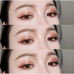 What's Makeup ? What is Makeup ? Generally, what is makeup ? Kiss Makeup, Prom Makeup, Wedding Makeup, Korean Makeup Look, Asian Eye Makeup, Asian Make Up, Eye Make Up, Make Up Looks, Makeup Inspo