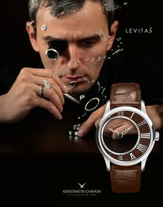 Mysterious watch Levitas by Konstantin Chaykin
