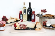 Make cheeseboards out of anything and stage ideal pairings with multiple boards.