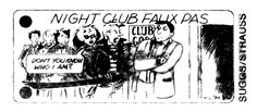 """Night Club Faux Pas"" from The Village Voice, 1985"