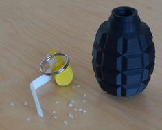 Granat - grzechotka wykonany na drukarce 3D