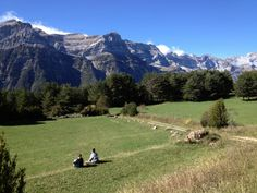 Valle de Pineta, menudas vistas