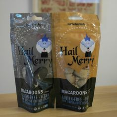 Vegan, Gluten Free Macaroons from Hail Merry. A healthy and delicious Uncommon Snack!  Open: Mon-Fri, 8am-8pm Sat & Sun, 10am-8pm