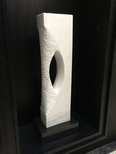 Leopoldino de Abreu #Sculpture - White Marble 2015
