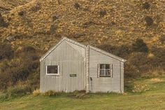 Double hut in the Hakatere conservation park. South Island, Mountain S, Conservation, New Zealand, Shed, Hiking, Outdoors, Outdoor Structures, Adventure