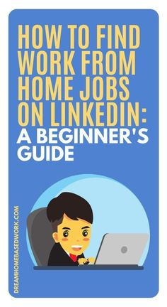 You probably already heard that you can use LinkedIn to find a job. But how can you do it correctly? How can you find work from LinkedIn jobs? Read on! #hiring #workathome #jobs