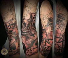 50+ Cool Sleeve Tattoo Designs | Cuded