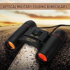 Foldable Binoculars 30x60 126m/1000m