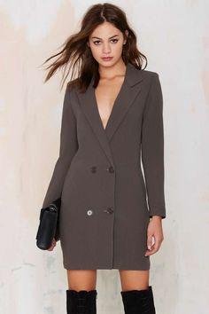 Tuxedo Dress ==