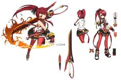 Pyro Knight from Elsword