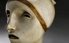 ADOLFO WILDT (1868-1931) AND WORKSHOP ITALIAN, MILAN, CIRCA 1916 | L'Anima e la sua Veste Italian Sculptors, Monuments, Puppets, Statues, Milan, Scary, Character Design, Workshop, Auction