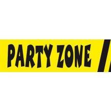 """Party Zone -""""varoitusnauha"""""""