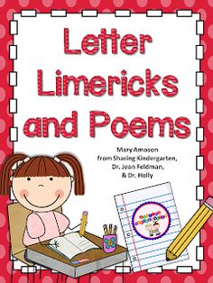 Letter Limericks and Poems -  - Pinned by @PediaStaff – Please Visit  ht.ly/63sNt for all our pediatric therapy pins