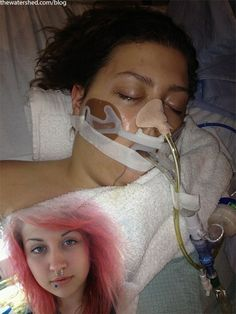 Emily Bauer, the teen that nearly died from synthetic marijuana, was left paralyzed, blind and on life support after smoking 'Spice,' and her family thought she was never going to come out of it. Description from thewatershed.com. I searched for this on bing.com/images