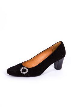Trachten Schuhe Paula, schwarz