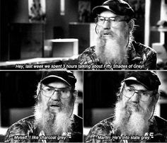 Duck Dynasty - fifty shades of grey