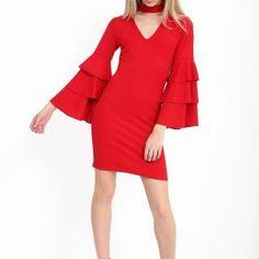 #Stilicity #WomensFashion #fashionboutique #eshop #onlineshopping #fashionaddict #style #trendy Dress To Impress, Cold Shoulder Dress, Dresses With Sleeves, Long Sleeve, Style, Fashion, Swag, Moda, Sleeve Dresses