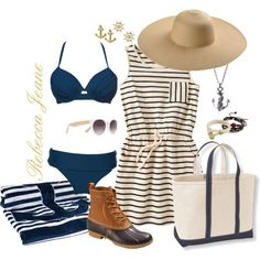 """""""On the Harbor"""" by rebecca-jeane on Polyvore"""