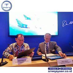 PT Sriwijaya Air mendapatkan keistimewaaan di Paris Air Show 2015 dengan menandatangani Perjanjian Pembelian dua unit pesawat Boeing 737-900 ER dan opsi pembelian 20 unit pesawat sejenis http://on.fb.me/1JRPdRj   Sriwijaya Air Group