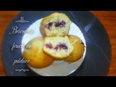 Briose cu fructe de padure Make It Yourself, Breakfast, Food, Morning Coffee, Essen, Meals, Yemek, Eten