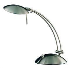 5605 - TRIO - lampa bankérska stmievateľná - matný nikel