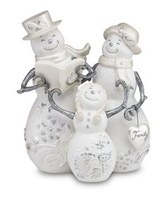 Take a look at this Snowman Family Figurine by Pavilion Gift Company on #zulily today!
