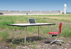 Working I Office I Home I Interior I Furniture I Airport Tempelhof Berlin I Desktop System 180 - Design Made in Berlin