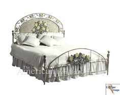 Larger Image Frames Direct, Bed Company, Extra Bedroom, American Made, Bed Frame, Larger, Home And Garden, Iron, Gardening