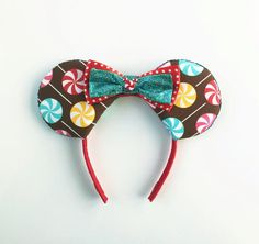Disney Treats Ears Disneyland Mickey Ears by ToNeverNeverland