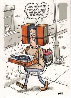 You cant beat the sound of real vinyl