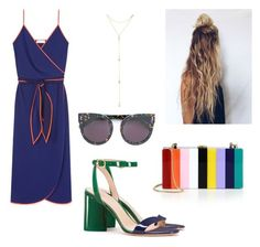 """""""Untitled #218"""" by jelennak ❤ liked on Polyvore featuring Tory Burch, Milly, STELLA McCARTNEY and Fragments"""